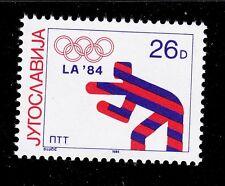 YUGOSLAVIA   SCOTT# 1704a   MNH  OLYMPIC/WRESTLING TOPICAL