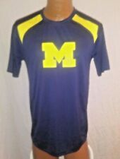 NEW L MICHIGAN WOLVERINES LARGE By Majestic T-Shirt 39iT