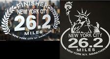 2019 any year New York City Nyc Marathon two (2) Decals