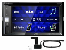 JVC KW-V255DBT 2-DIN Autoradio BT DVD CD USB iPod Android Spotify + DAB+ Antenne