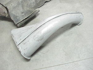 1957 57 Ford Lincoln Premiere Left Front Fender Fresh Air Duct 3 Piece Section