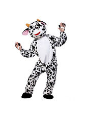 Cute Cow Mascot Deluxe Big Head Fun Charity Sports Mad Cow Unisex One Size 6'2""