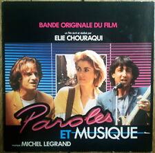 Lambert Deneuve Anconina 33 Tours  Michel Legrand 1984