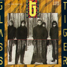 GLASS TIGER Thin Red Line CD (Manhattan Records, Don't Forget Me When I'm Gone)