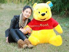 "40"" Cute Giant Big Plush Stuffed Winnie Bear Large Huge Kids Birthday Gift 100cm"