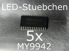 5x MY9942 LED-Treiber IC (RGBW, KSQ, incl. DMX, High-Power LED)