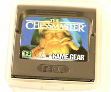 Sega Game Gear Gamegear THE CHESSMASTER   (GAME  ONLY)