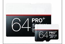64 GB MICRO SD SPEICHERKARTE Memory Card CLASS 10 Smartphones Tablet