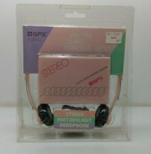 GPX A2830 AM/FM Stereo Personal Radio  Pink Vintage New Sealed