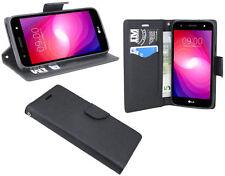 LG X POWER 2 (M320N) // Tasche Hülle Schutz Cover Case Bag Etui Zubehör Schwarz
