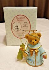 2011 Cherished Teddies Bell Angel Ornament Rubi Let The Season Ring wJoy 4023735