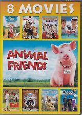 Animal Friends 8-Movie Collection (DVD, 2015) NEW Babe, Beethoven's, Flipper, Ed