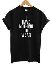 No tengo nada que Wear T Shirt holgados Top Hipster Tienda Hombre Kids Fashion Celebrity