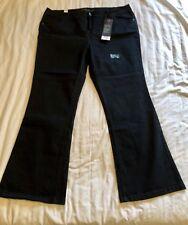 Plus Size Brand New Bootcut Black Jeans Evans Size 24