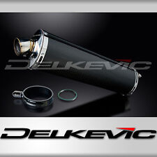 "Suzuki RF900R 18"" Carbon Fiber Oval Bolt On Muffler Exhaust 94 95 96 97"