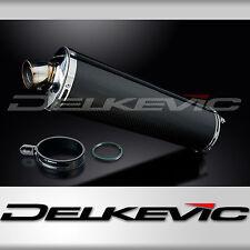"""Suzuki RF900R 18"""" Carbon Fiber Oval Bolt On Muffler Exhaust 94 95 96 97"""