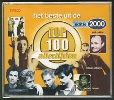 HET BESTE UIT DE TOP 100 ALLERTIJDEN 2000 2-CD U2 DIRE  STRAITS  DEPECHE MODE