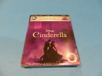 CINDERELLA LIMITED EDITION STEELBOOK BLU-RAY ANNIVERSARY NEW SEALED