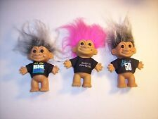 Troll Doll Collection Trio The Big One Life Begins at 50 Aged to Perfection Russ