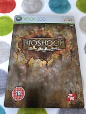 Bioshock Xbox 360 UK PAL Limited Steelbook Edition **PLAYABLE ON XBOX ONE**