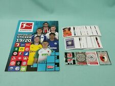 Topps Bundesliga Sticker 2019/2020 komplett Set alle 295 Sticker 19/20