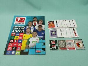 Topps Bundesliga Sticker 2019/2020 komplett Set alle 295 Sticker 19/20