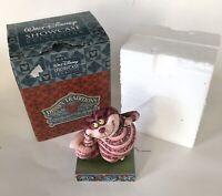 Disney Traditions Showcase Collection Cheshire Cat Michevious Me Figurine Shore