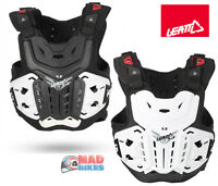 Leatt Body Armour Adult MX Enduro Motocross Chest Protector and Roost Protection