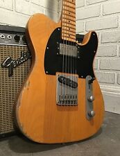 Relic Fender Squier Telecaster Electric Guitar Keith Richards Micawber style