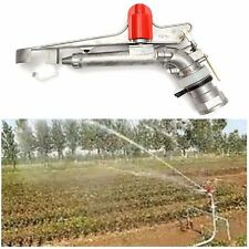 2.2'' 360° Irrigation Spray Gun Adjustable Impact Sprinkler Gun Large Area