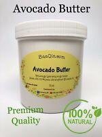 Avocado Butter - PREMIUM QUALITY 100% Pure Natural Raw Unrefined Cold Pressed
