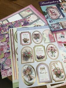 craft clearout hunkydory at least 15 Sheets Including Magazine