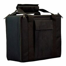 Bulldog Cases BD511 Bulldog 11inch X 9inch Black Nylon 2 Pistol Case W/locking