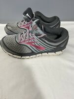 Brooks Ariel 18 Running Shoes Womens Size 9.5 B US Gray Pink 1202711B091