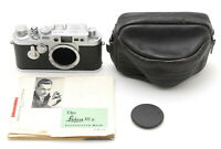 Leica IIIg IIIG 35mm Rangefinder Film Camera Chrome Body Serial 867843 #521