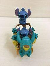 Disney STITCH Figure Model. Wild Man Forest Theme. Very RARE Collection