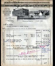 "NOGENT-sur-MARNE (94) USINE de PRODUITS D'ENTRETIEN ""CA VA SEUL / BOUCQUEY"" 1950"