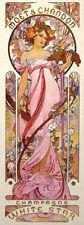 Art Nouveau Print Alphonse Mucha White Star Wall Poster