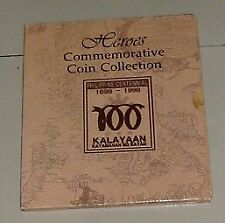 10 SET HEROES COMMEMORATIVE COIN COLLECTION PHILIPPINE CENTENNIAL HTF NEWMIF