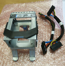 """Dell PowerEdge R510 Internal 2x 2.5"""" Hard Drive HDD Bay Cage PE R510 with cables"""
