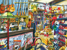 Jigsaw Puzzle Before There Were Malls Second Hand Store 300 pieces NEW Made USA
