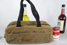 DIESEL spare parts corduroy GREEN purse handbag tool bag small hand