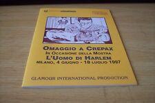Diabolik - Catalago Mostra L'oumo di Harlem - Omaggio a Crepax 1997