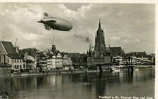 WII German Dirigible Real Photo Postcard