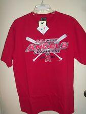 L.A. Angels 2004 AL WEST Baseball Champs Men's  T-Shirt Lg NWT