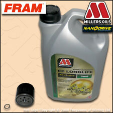 SERVICE KIT VAUXHALL ASTRA H MK5 VXR FRAM OIL FILTER with MILLERS NANODRIVE OIL