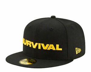 New Era x Dave East 59Fifty Survival Black/Yellow Fitted Hat 12516862