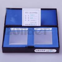 LOT2 40mm Optical Quartz Glass Cuvettes Cell for Spectrophotometer