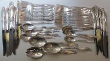Silver Melody by International Sterling Flatware Service For 12 NM