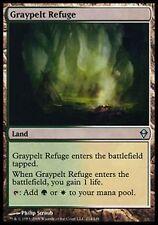 *MRM* FR 2x Graypelt Refuge ( Refuge de Grisepeau ) MTG Zendikar